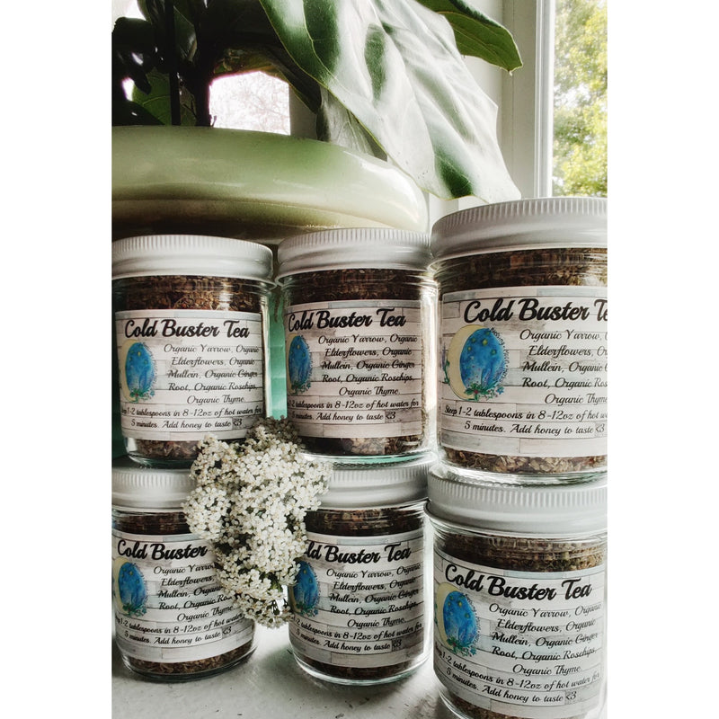 Blessing Moon Herbs - Cold Buster Tea - Grassroots Baby