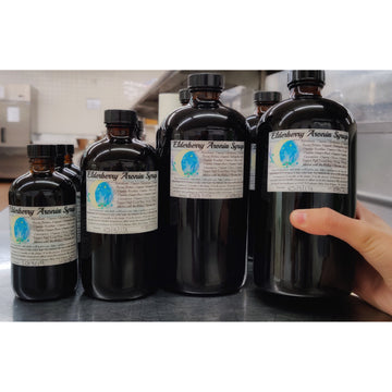 Blessing Moon Herbs - Elderberry Aronia Syrup *Store Pickup Only*