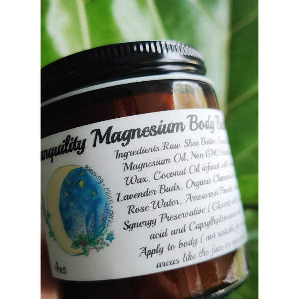 Blessing Moon Herbs - Tranquility Magnesium Body Butter - Grassroots Baby
