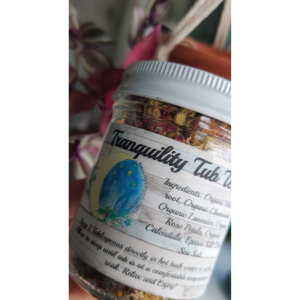 Blessing Moon Herbs - Tranquility Tub Tea - Grassroots Baby