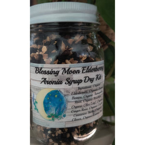 Blessing Moon Herbs - Elderberry Aronia Syrup Dry Kit - Grassroots Baby