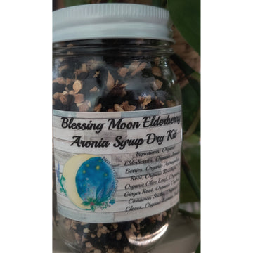 Blessing Moon Herbs - Elderberry Aronia Syrup Dry Kit