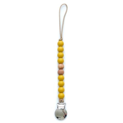 Getting Sew Crafty - Pacifier Clips-Getting Sew Crafty-Mustard-Grassroots Baby