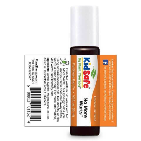 Plant Therapy - No More Warts Blend-Plant Therapy-10ml Pre-Diluted Roll On-Grassroots Baby
