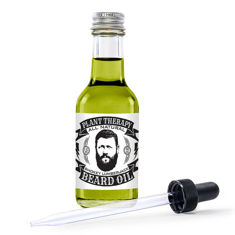 Plant Therapy - All Natural Beard Oil (Smokey Lumberjack)