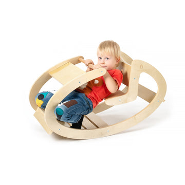 CassaroKids - Natural Ride-On Rocker