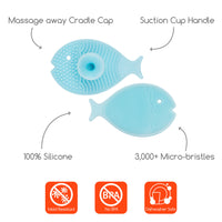 Innobaby - Bathin' Smart Bath Scrub (Mini Fish) - Grassroots Baby