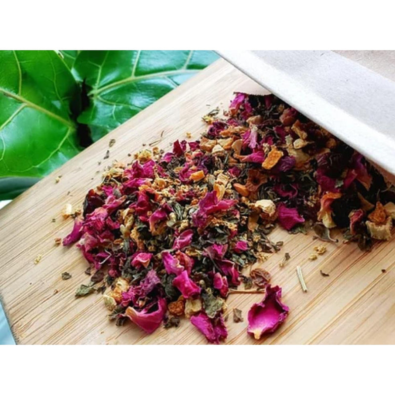 Blessing Moon Herbs - Elderflower Rose Tea - Grassroots Baby