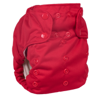 Smart Bottoms - Smart One 3.1 AIO-Smart Bottoms-Red-Grassroots Baby