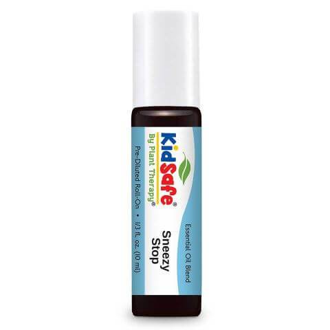 Plant Therapy - Sneezy Stop Blend-Plant Therapy-10ml Pre-Diluted Roll On-Grassroots Baby