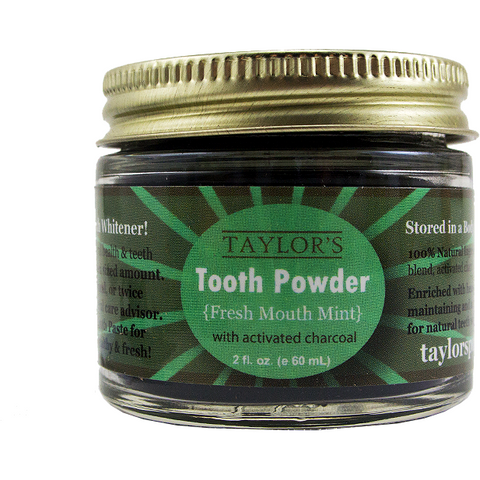 Taylor's TOOTH Powder - 2oz - Grassroots Baby