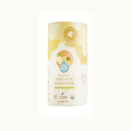 Tea Drops - Aloha Pineapple Chamomile Tea-Tea Drops-Recyclable Tube w/ 10 Drops-Grassroots Baby