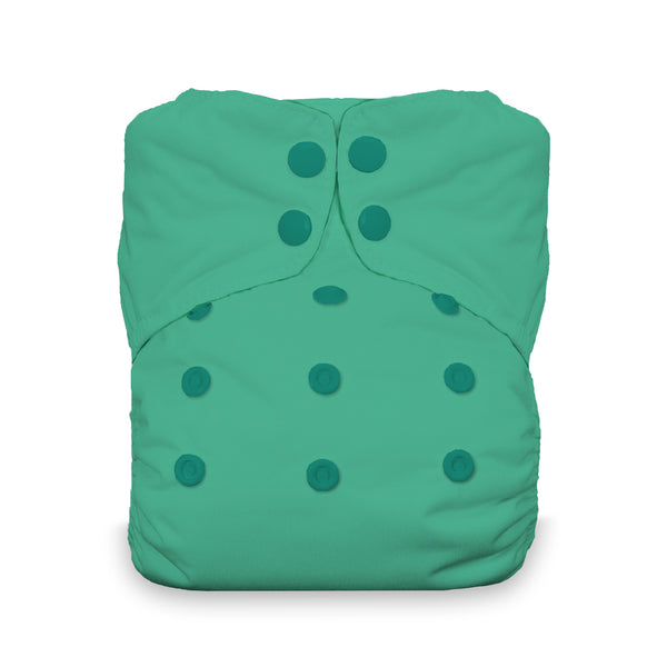 Thirsties - Snap Natural AIO (One Size)-Thirsties-Seafoam-Grassroots Baby