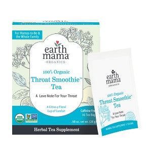 Earth Mama Organics- Throat Smoothie Tea