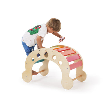 CassaroKids - Wooden Viking Rocker