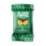 Awake - Caffeinated Chocolate Bars (Dark Chocolate Mint Bites) - Grassroots Baby