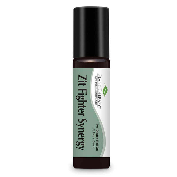 Plant Therapy - Zit Fighter Blend-Plant Therapy-10ml Pre-Diluted Roll On-Grassroots Baby