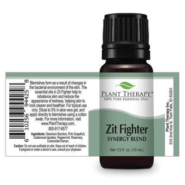 Plant Therapy - Zit Fighter Synergy Essential Oil 10mL