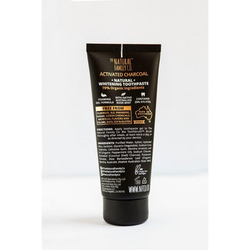 The Natural Family Company - BLAK Activated Charcoal Toothpaste