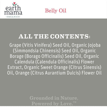 Earth Mama Organics - Belly Oil