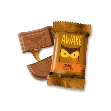 Awake - Caffeinated Chocolate Bars (Caramel Chocolate Bites)