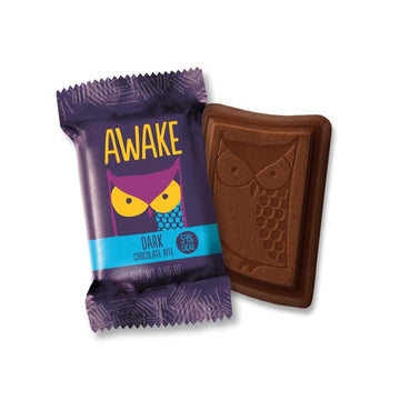 Awake - Caffeinated Chocolate Bars (Dark Chocolate Bites)
