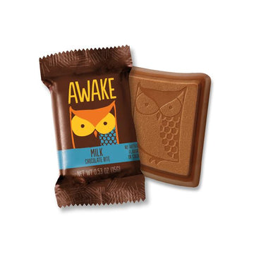 Awake - Caffeinated Chocolate Bars (Milk Chocolate Bites)