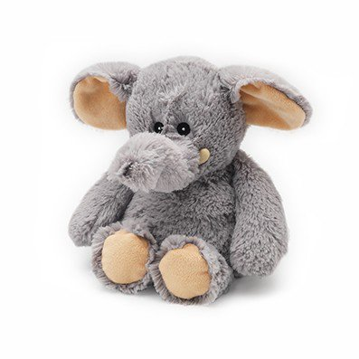 Warmies - Cozy Plush Elephant (Grey)