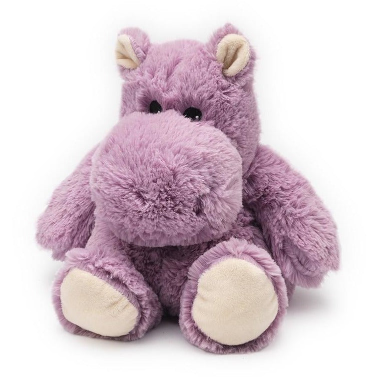 Warmies - Junior Cozy Plush Hippo