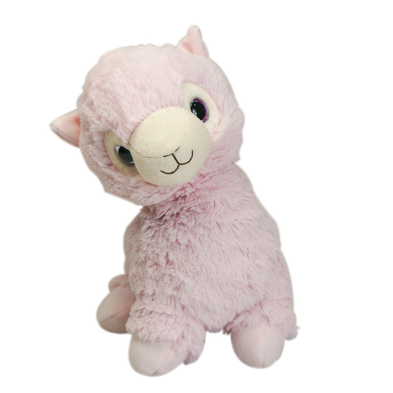 Warmies - Cozy Plush Llama (Pink) - Grassroots Baby