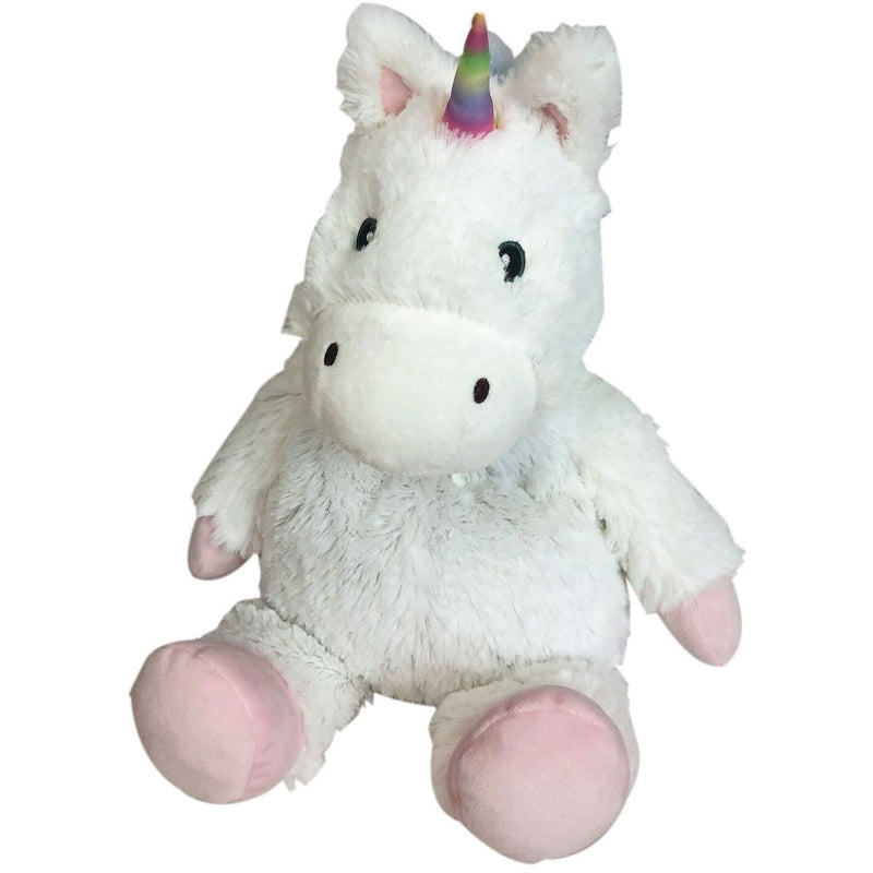 Warmies - Cozy Plush White Unicorn - Grassroots Baby