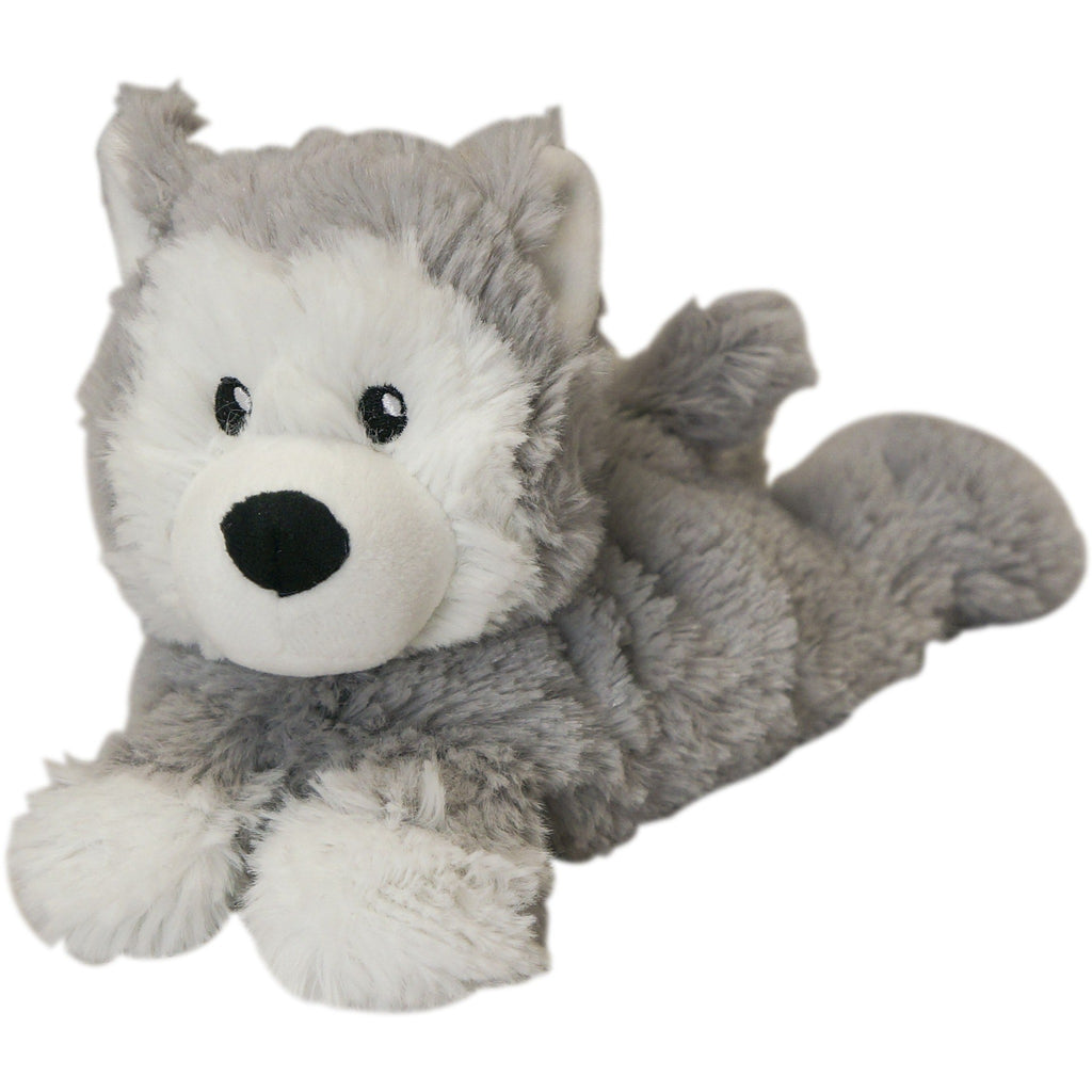 Warmies - Junior Cozy Plush Husky - Grassroots Baby