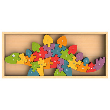 Begin Again Toys - Dino A to Z Puzzle