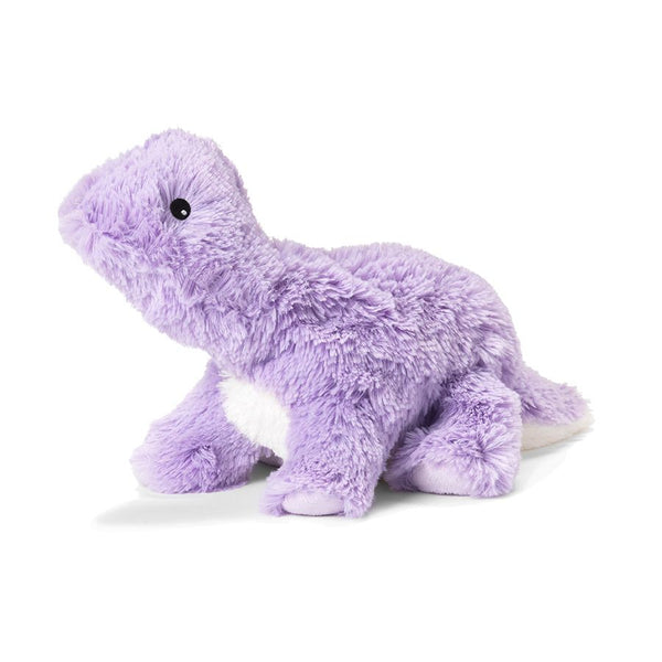 Warmies - Cozy Plush Purple Dinosaur - Grassroots Baby
