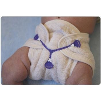 Snappi - 3 Pack Diaper Fastener (Size 2) - Grassroots Baby