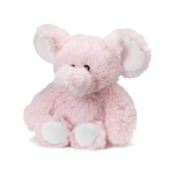 Warmies - Junior Cozy Plush Pink Elephant - Grassroots Baby