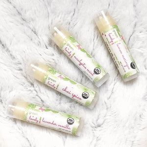 Green + Lovely - Nature's Silk Lip Balm, Organic - Chai Spice - Grassroots Baby