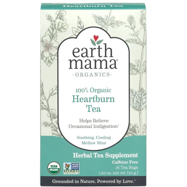 Earth Mama Organics - Heartburn Tea-Earth Mama Organics-Grassroots Baby