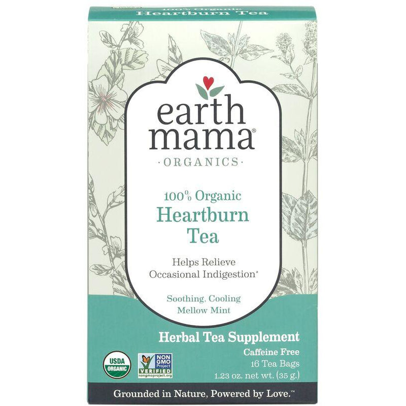 Earth Mama - Organic Heartburn Tea - Grassroots Baby