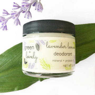 Green + Lovely - Deodorant w/ Probiotics