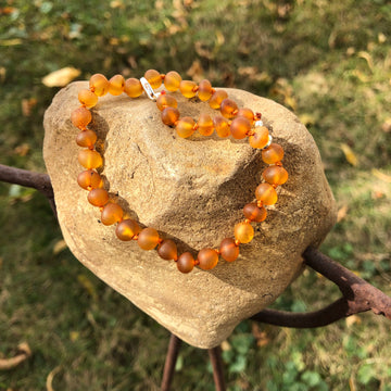 "Adult Amber - 10"" Adjustable Anklet/Bracelet"