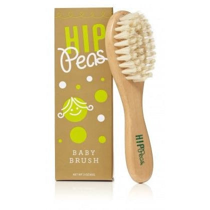 Hip Peas - Wooden Baby Brush - Grassroots Baby