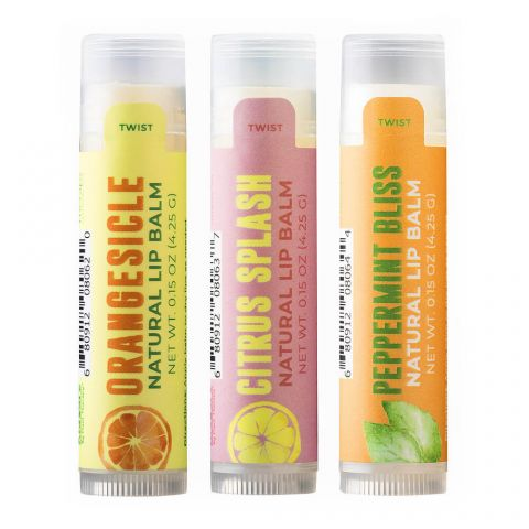 Plant Therapy - Lip Balm Trio Set