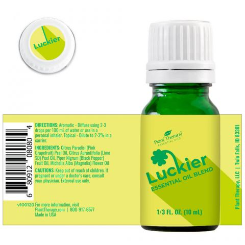 Plant Therapy - Luckier Essential Oil Blend 10mL - Grassroots Baby