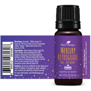 Plant Therapy - Mercury Retrograde KidSafe Essential Oil Blend (10mL)
