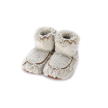 Warmies - Plush Body Boots Brown Marshmallow