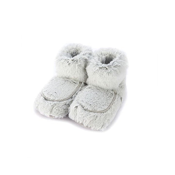 Warmies - Plush Boots Gray Marshmallow