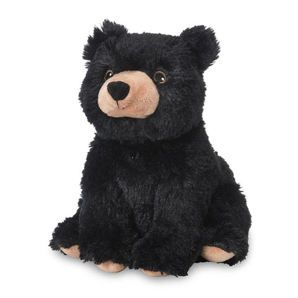 Warmies - Cozy Plush Black Bear - Grassroots Baby