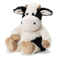 Warmies - Cozy Plush Black & White Cow - Grassroots Baby