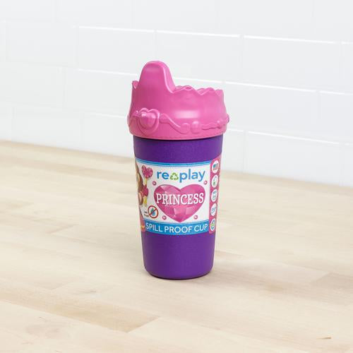 Re-Play No Spill Cups (Princess)-Re-Play-Cup w/ Lid-Grassroots Baby